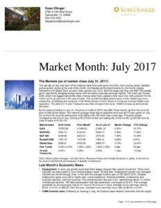 thumbnail of Market Recap July 2017