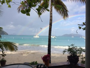 Alison's recent trip to the British Virgin Islands
