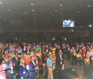 View from the stage