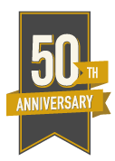 badge for 50th Anniversary