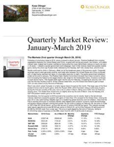 thumbnail of Market Review Q1 2019