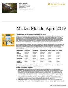 thumbnail of Market Month-April 2019