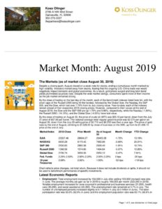 thumbnail of Market Month August 2019