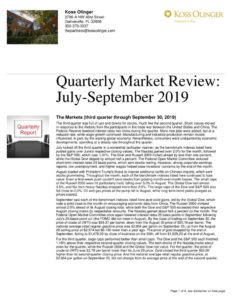 thumbnail of Q3 2019 Market Review