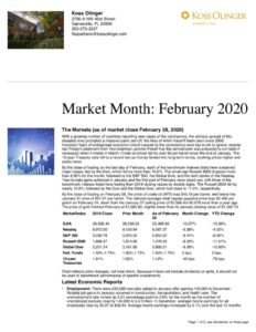 thumbnail of February 2020 Market Review