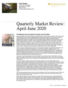 thumbnail of Second Quarter 2020 Market Review