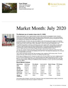 thumbnail of Market Month July 2020