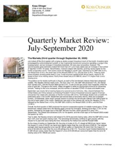 thumbnail of Q3 2020 Market Review