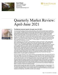 thumbnail of Second Quarter Market Review